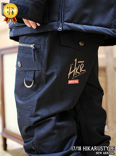 17/18보드복 Baggy fit [BLACK]
