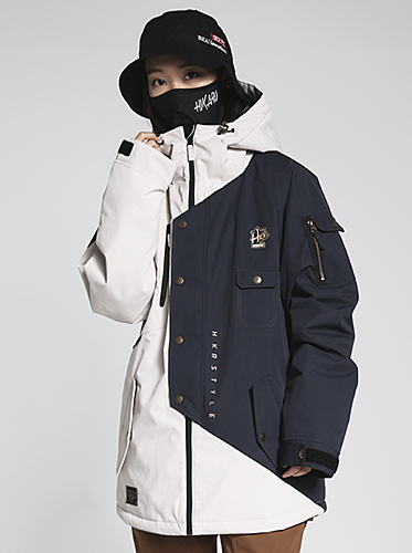 18/19 Phantom Jacket[Ivory/Navy]