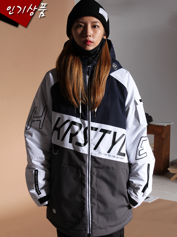 19/20 LTR Jacket [White Mix]