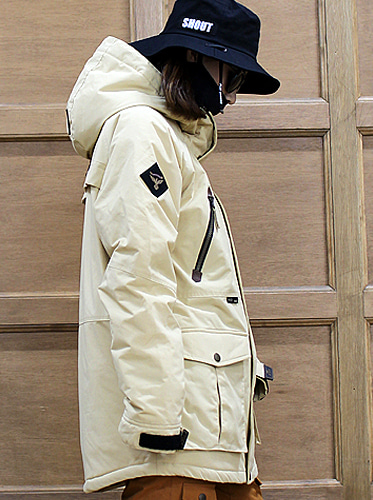17/18  Hunter Jacket [Ivory]보드복