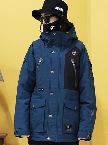 17/18  Hunter Jacket [Indy blue]
