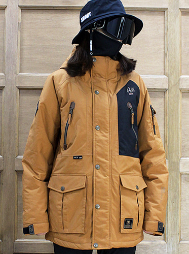 17/18  Hunter Jacket [Camel]보드복
