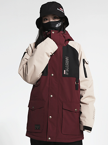 18/19 Hunter Jacket[Burgundy Mix]