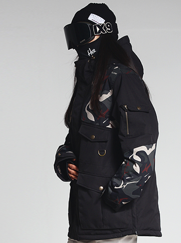 18/19 Main Jacket[Black camo]