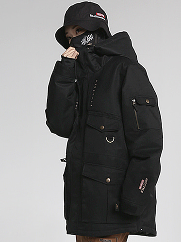 18/19 Main Jacket[Black]
