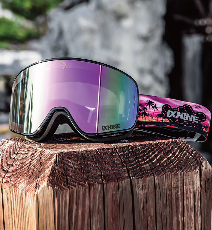 IX3 pro Aloha Black Edition / Pink Metalized Lens
