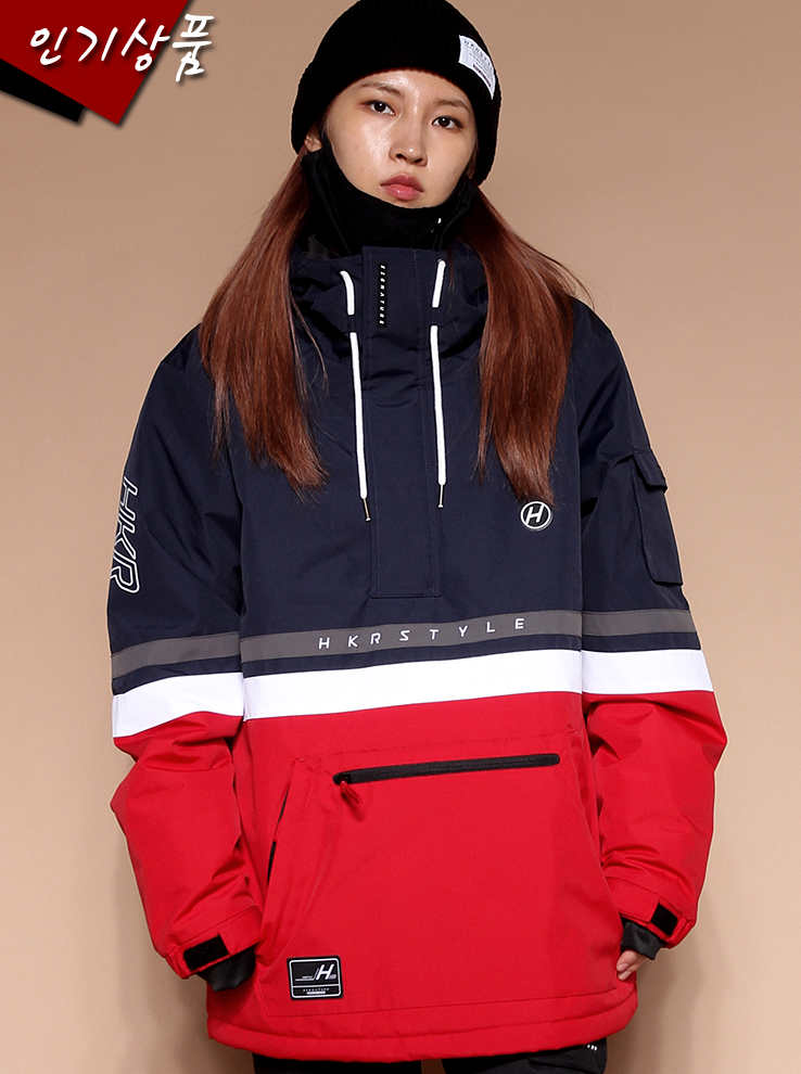 19/20 Anorak Hiptro [Navy Red][2차입고완료]