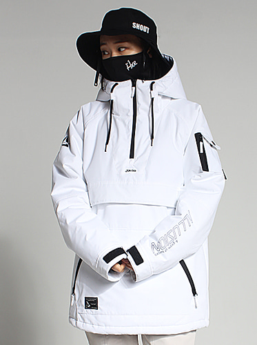 [얼루션]19/20 Anorak-F Jacket[White]