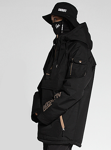 [얼루션] 19/20 Anorak-F Jacket[Black]