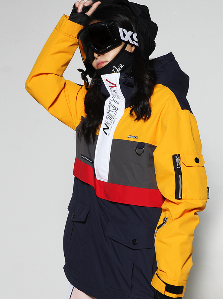 20/21 Anorak-F [Yellow]