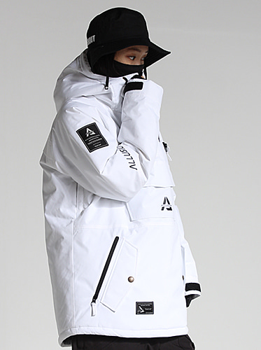 [얼루션] 19/20 Anorak-S Jacket[White]