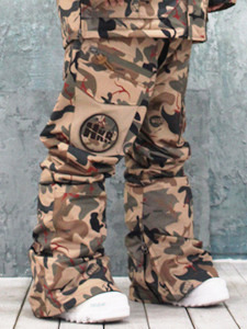 14/15 Crack camo Pants [Baggy fit]