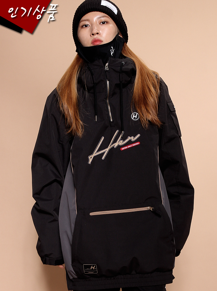19/20 Anorak Signature [Black][2차입고완료]