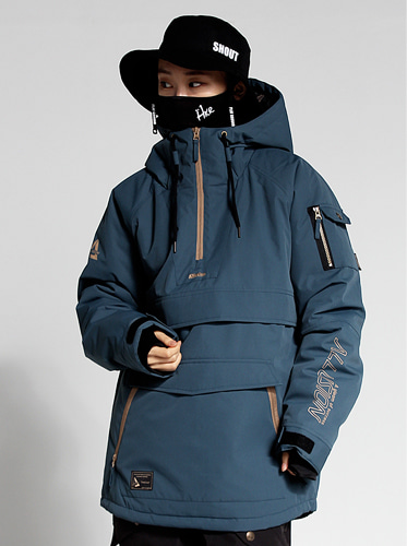 [얼루션] 19/20 Anorak-F Jacket[Dark blue]