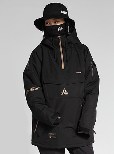 [얼루션] 19/20 Anorak-S Jacket[Black]