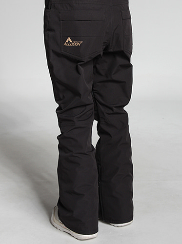 [얼루션] 19/20 Slim fit Pants [Black]