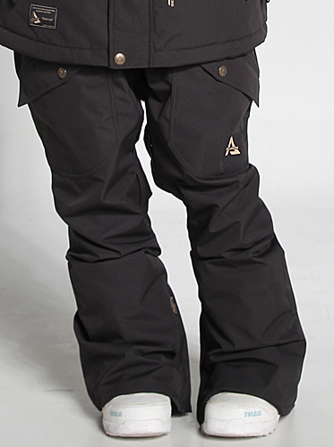 [얼루션] 19/20 Baggy fit Pants [Black]